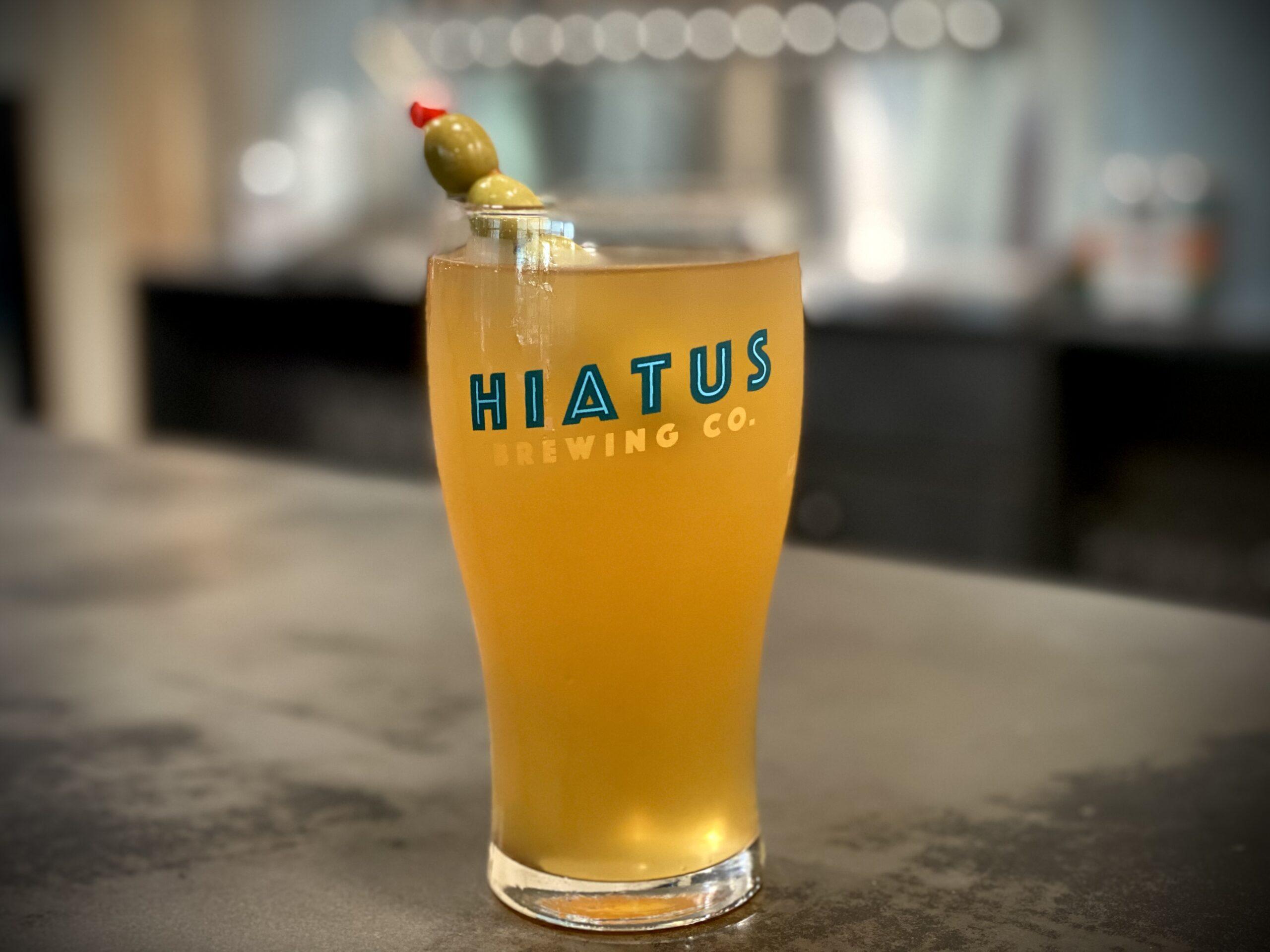 Dirty Beertini Hiatus Brewing Company