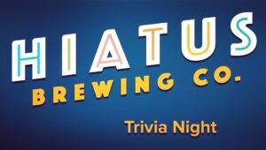 Hiatus Brewing Company Thursday Night Trivia Ocala Florida Brewery Brewpub Craft Beer