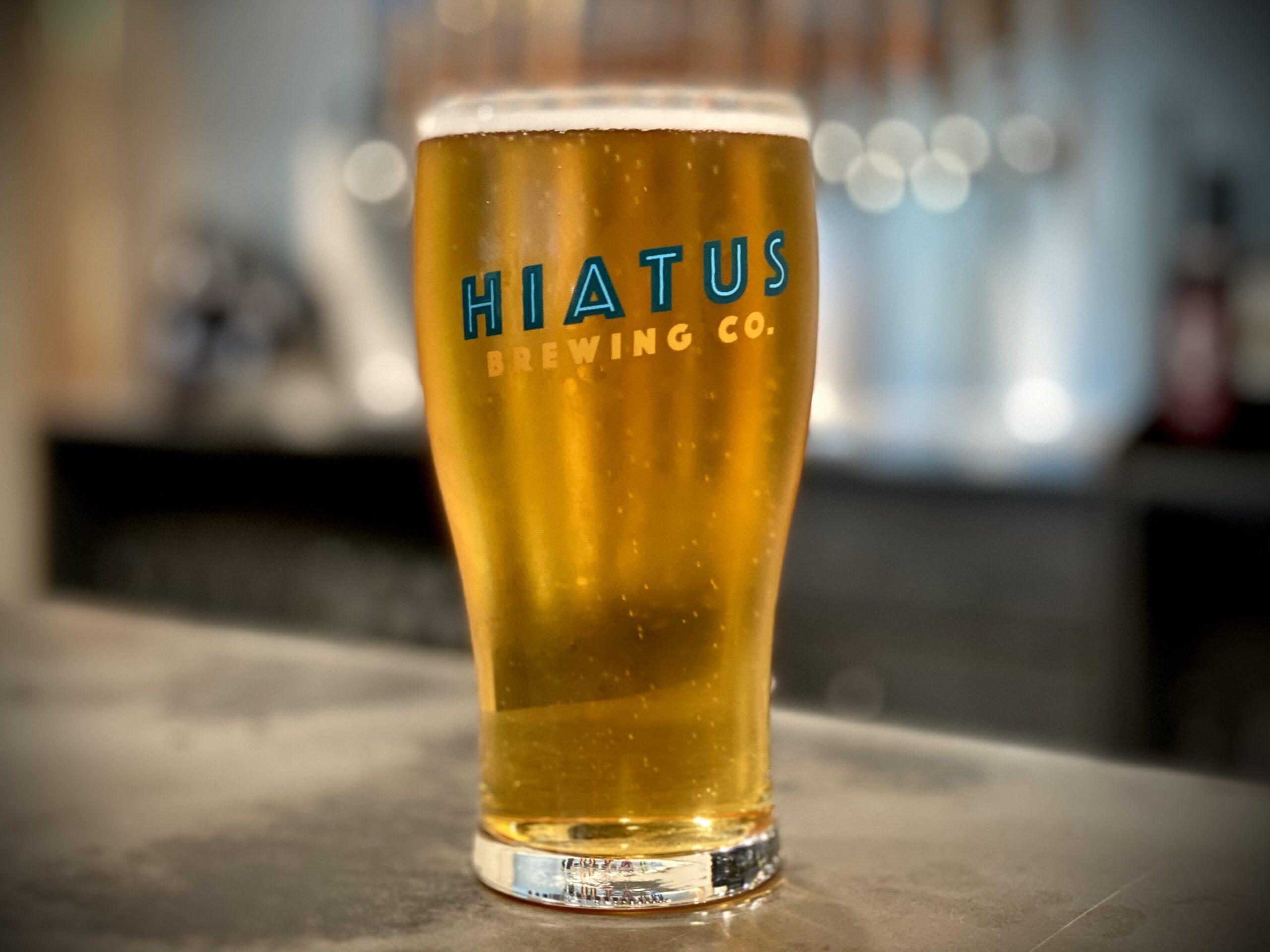 Hiatus Brewing Company everyday is saturday