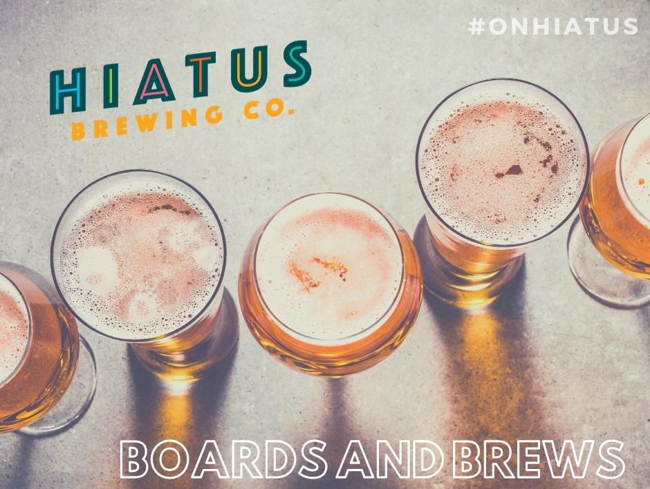 Hiatus Brewing Company Boards Brews Hammer Stain Brewpub Brewery Ocala Florida