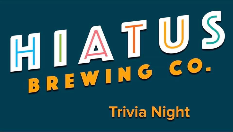 Hiatus Brewing Company Thursday Night Trivia Brewpub Brewery Ocala Florida