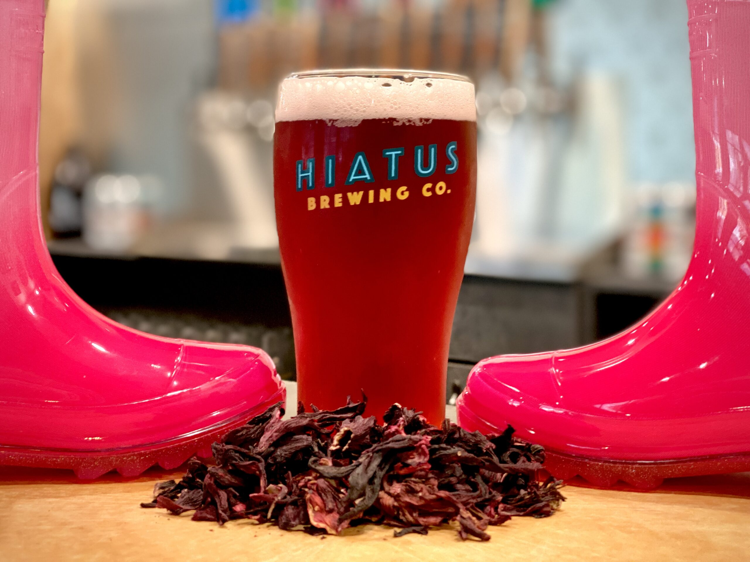 Pink Boots Society Blend Hiatus Brewing Company