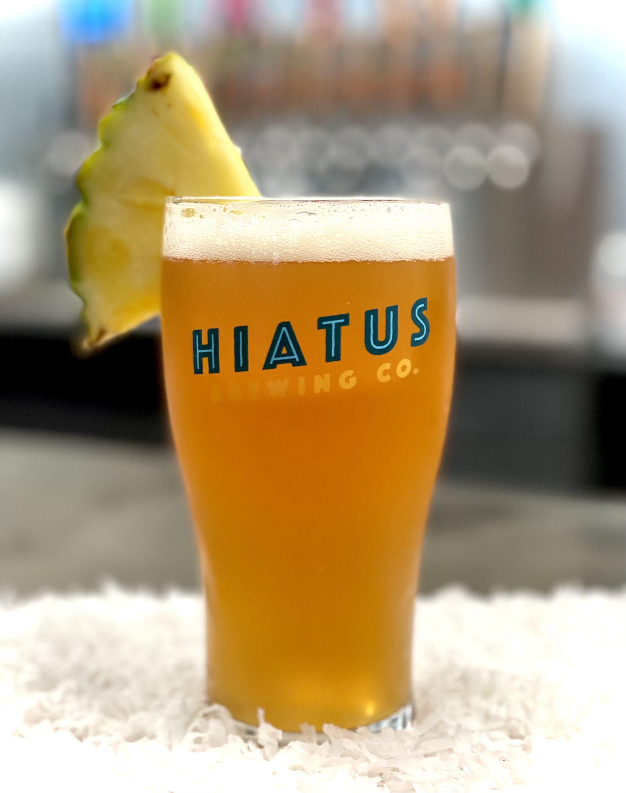 Hiatus Brewing Company Plan Your Escape Milkshake IPA Brewery Brew Pub Ocala Florida