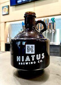 Hiatus Brewing Company Growler Craft Beer Brewery Brewpub Ocala Florida